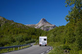 Roadtrip on Lofoten — Stock Photo