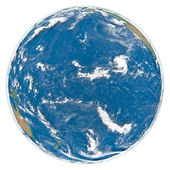 Pacific Ocean from space — Stock Photo