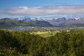 Lofoty panorama — Stock fotografie