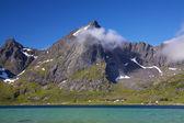 норвежский панорама — Стоковое фото