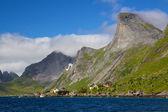 如诗如画的挪威全景 — 图库照片
