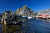 Reine on Lofoten — Stock Photo