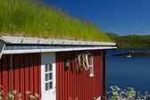 Rorbu hut — Stock Photo