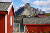 Rorbu on Lofoten — Stock Photo