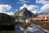 Pittoresk fiskeby — Stockfoto