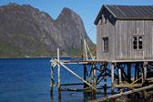 Antigo porto de pesca — Foto Stock