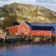 Fishing huts — Stock Photo #12274671