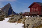 Mountain cabin — Stock Photo