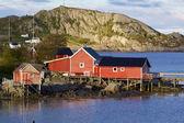 Cabanas de pesca — Foto Stock