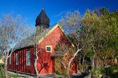 Ancienne église de nordland — Photo