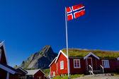伝統的なノルウェー — ストック写真
