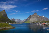 Reine on Lofoten — Stock Photo