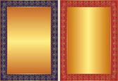 Golden background — Stock Vector