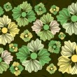 Vector de stock : Flowery Pattern 1