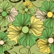 Flowery Pattern 2 — Vector de stock #10788495