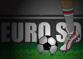 England Kick Off — Stock Vector