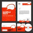 Identity template. — Stock Vector