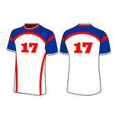 T-shirt sport designs. — Stock Vector