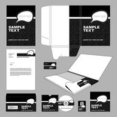 Business-template — Stockvektor