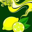 Royalty-Free Stock Vector Image: Label design. Lemon.