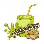 Pistachios coctail. — Stock Vector #11439156