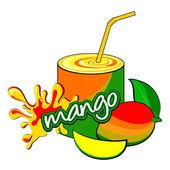 Mango. — Stock Vector