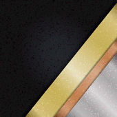 šablona s pásky — Stock vektor
