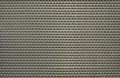 Gris perforada placa de aluminio — Foto de Stock