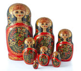 Dolls from russia — Stock Photo