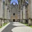 Carmo Church ruins in Lisbon, Portugal — Stock Photo