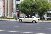 Taxis lisbon portugal — Stock Photo