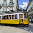 Tramway lisbon - Stock Photo