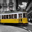 Stock Photo: Tramway lisbon