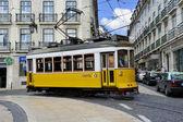 Tramway lisbon — Stock Photo