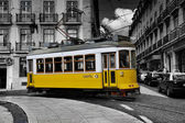 Tramway lisbon — Stock Photo