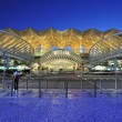 Oriente station in lisbon - Stock Photo