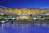 Oriente station in lisbon — Stock Photo