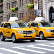 Taxis New York — Stock Photo