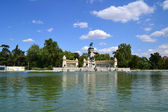 Retiro's Park Lake — Stock Photo