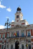 пуэрта-дель-соль в мадриде, испания — Стоковое фото
