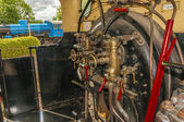 ångamotorn cab — Stockfoto