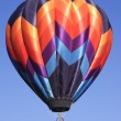 Stock Photo: Hot air balloons at Taos Balloon festival 2007