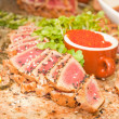 Stock Photo: Seared Ahi