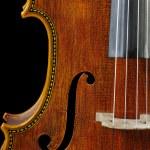 ������, ������: Cello on a black background