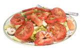 Tomatensalade — Stockfoto
