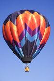 Hot air balloons at the Taos Balloon festival 2007 — Stock Photo