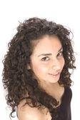 красивая молодая испанская женщина — Стоковое фото