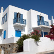 Stock Photo: Houses on Mykonos