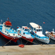 Stock Photo: Boats in dock at Mykonos