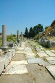 Roman ruins at Ephesus in Turkey — Stock Photo